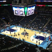 Photo taken at Spectrum Center by Kyle M. on 1/9/2013