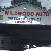 Photo taken at Wildwood Auto Repair & Wrecker Service, Inc. by Anthony B. on 9/6/2013