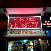 Photo taken at Cevizli Market by Mehmet Ali K. on 12/23/2014
