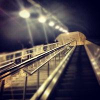 Photo taken at Kozyatağı Metro İstasyonu by Kaan P. on 3/16/2013