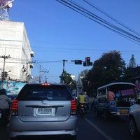 Photo taken at สี่แยกสตรี by Jittakorn J. on 1/14/2013