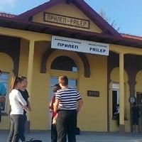 Photo taken at Железничка станица Прилеп / Prilep Train Station by Martin T. on 7/18/2016