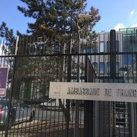 Photo taken at Ambasada Republiki Francuskiej by Igor L. on 3/15/2017