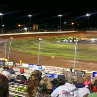 Photo taken at The Dirt Track at Charlotte Motor Speedway by BЯIΛП Ⓧ. on 10/10/2012