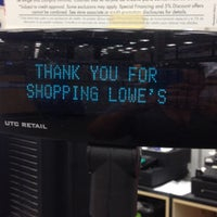 Photo taken at Lowe's Home Improvement by Sara on 5/24/2014