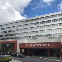 Photo taken at Clayton Hotel - Burlington Road by Michael Y. on 6/7/2017