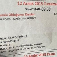 Photo taken at Bedri Rahmi Eyüboğlu İlköğretim Okulu by Oğuz E. on 12/12/2015