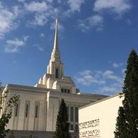 Photo taken at Ogden Utah Temple by Mark B. on 8/23/2014