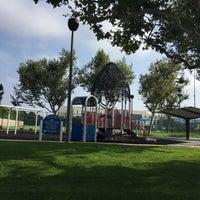 Photo taken at Glenn M Anderson Park by Jonah H. on 8/26/2017