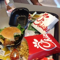 Photo taken at Chick-fil-A Albemarle Road by Tony D. on 7/18/2013