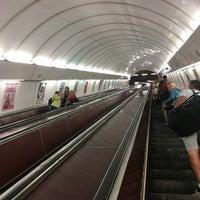 Photo taken at Metro =B= Anděl by Tomáš S. on 8/22/2017