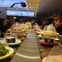 Photo taken at Sushi Circle by Stefan P. on 1/2/2013