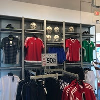 Photo taken at adidas Factory Outlet by Ryan B. on 9/24/2017