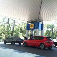 Photo taken at АЗС Укрнафта by Lenu44a⭐️ on 8/20/2014