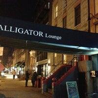 Photo taken at Alligator Lounge by Mandy M. on 1/19/2013