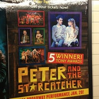 Photo taken at Peter and the Starcatcher by Mandy M. on 12/30/2012