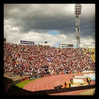 Photo taken at Stadio Renato Dall'Ara by Danila B. on 5/19/2013