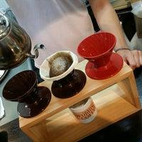 Photo taken at Yufumidoori Coffee by Young-jun K. on 6/30/2015