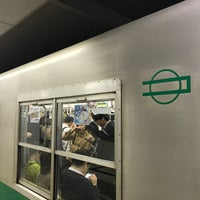 Photo taken at Chuo Line Morinomiya Station (C19) by yoshikazu f. on 4/14/2018