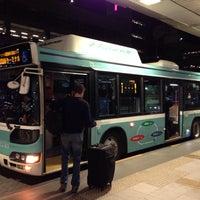 Photo taken at 第1ターミナルバスのりば by yoshikazu f. on 9/28/2013