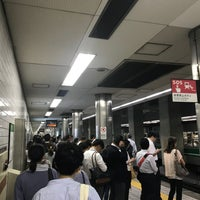 Photo taken at Chuo Line Morinomiya Station (C19) by yoshikazu f. on 9/11/2018