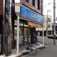 Photo taken at ローソン 九条店 by yoshikazu f. on 10/29/2013