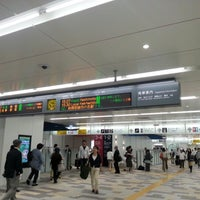 Photo taken at Chōfu Station (KO18) by Toshikatsu F. on 9/25/2012