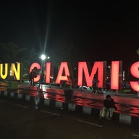 Photo taken at Taman Raflesia (Alun Alun Ciamis) by Edi M. on 5/6/2017