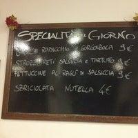 Photo taken at Osteria I Maccheroncini by Chiara C. on 12/28/2012