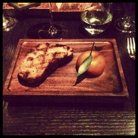 Photo taken at Dinner by Heston Blumenthal by Robbie G. on 9/20/2012