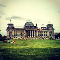 Photo taken at Reichstag by Robbie G. on 6/17/2013