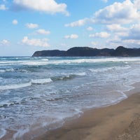 Photo taken at Uradome Coast by Taisuke E. on 11/3/2016