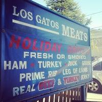 Photo taken at Los Gatos Meats Smokehouse by Domingo C. on 4/12/2013