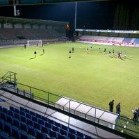 Photo taken at FCV Dender EH by Mathias V. on 10/13/2012