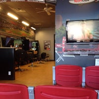 Photo taken at Sport Clips by Steve G. on 4/22/2016