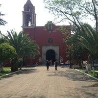 Photo taken at Parroquia de Santo Domingo de Guzmán by Mario F. on 4/28/2013