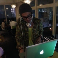 Photo taken at cafe dinner Lush Life by yuichirorz on 3/1/2014