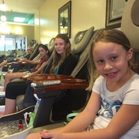 Photo taken at Five Star Nails & Spa by Kimberly P. on 8/15/2015