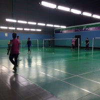 Photo taken at Pro One Badminton Centre by Farah A. on 12/6/2016