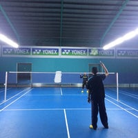 Photo taken at Pro One Badminton Centre by Farah A. on 11/29/2016