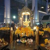 Photo taken at Erawan Shrine by Tao K. on 12/31/2012