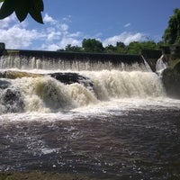Photo taken at Cachoeira do Acaraí by Helder S. on 1/1/2015