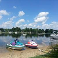 Photo taken at Scram Lake by Kristie S. on 7/14/2013