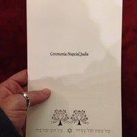 Photo taken at Sinagoga Circulo Israelita De Santiago by Adriano D. on 4/13/2014
