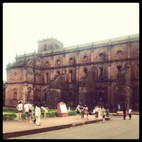 Photo taken at Basilica of Bom Jesus by Nikolay T. on 11/3/2012