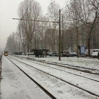 Photo taken at Corso Sempione by Clara O. on 2/11/2013