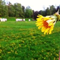 Photo taken at Ruskeasuon jousiammuntakenttä by Juhani M. on 5/22/2014