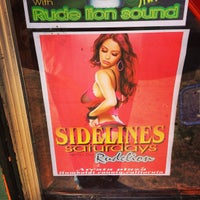 Photo taken at Sidelines Sports Bar by Bob D. on 9/5/2013