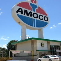 Photo taken at World's Largest Amoco Sign by Dee S. on 6/28/2013