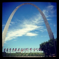 Photo taken at Gateway Arch by Dee S. on 6/27/2013